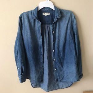 Madewell Denim Button Shirt